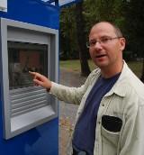 Na cmentarzu komunalnym w Opolu stanął infokiosk