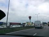 Ogromny korek na S 86 z Sosnowca do Katowic. Zablokowane trzy pasy [ZDJĘCIA]