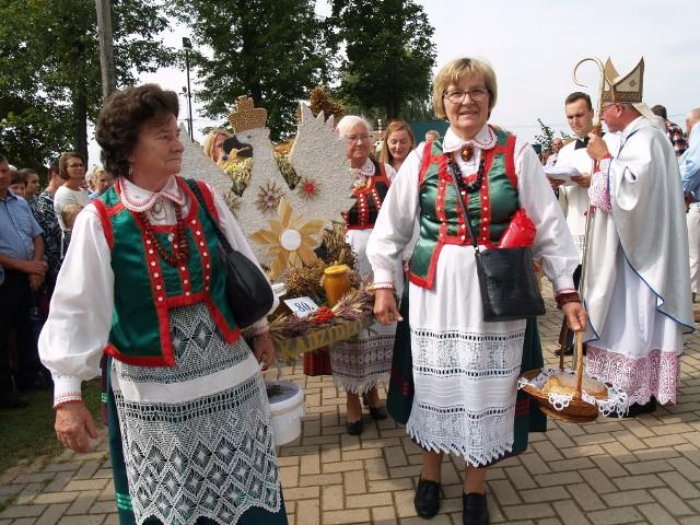 Dożynki diecezjalne w Wąsewie, 08.09.2019