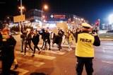 """Strajk Kobiet w Rzeszowie: """"Przepraszamy za utrudnienia, mamy rząd do obalenia"""""""