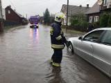 Burze w Podlaskiem. Gwałtowne opady i zalane ulice w regionie. Strażacy mają sporo pracy [ZDJĘCIA]