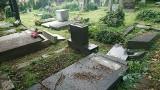 Cmentarz żydowski w Bielsku-Białej zdewastowały dzieci! Policja zatrzymała sprawców: to dwóch 12-latków i 13-latek