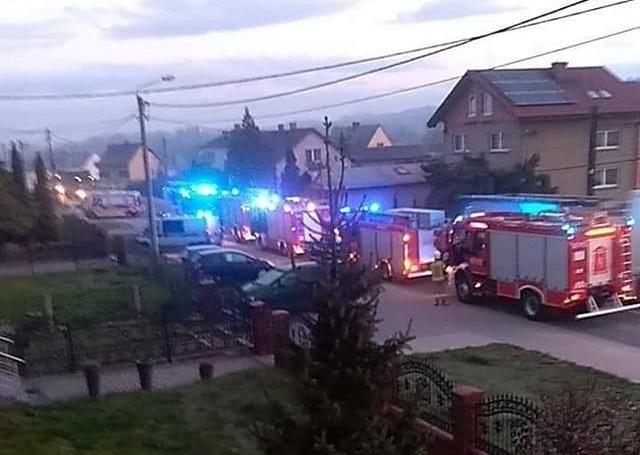 Tragiczny pożar w Wodzisławiu Śląskim