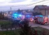 Tragiczny pożar w Wodzisławiu Śląskim. Dwóch mężczyzn zginęło w pożarze domu w Zawadzie
