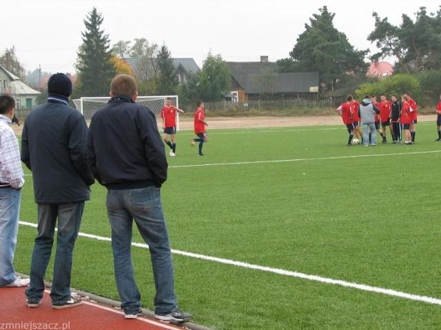 Na kompleksie  sportowym w Baranowie jest jeszcze wiele do zrobienia