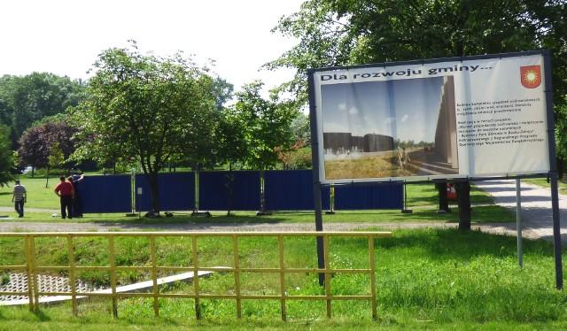 4 czerwca 2019 roku. Tak rozpoczęła się budowa kompleksu uzdrowiskowego - z tężnią solankową - w Busku-Zdroju.