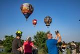 Balony na ogrzane powietrze na krakowskim niebie. Z okazji święta Stanów Zjednoczonych [GALERIA]