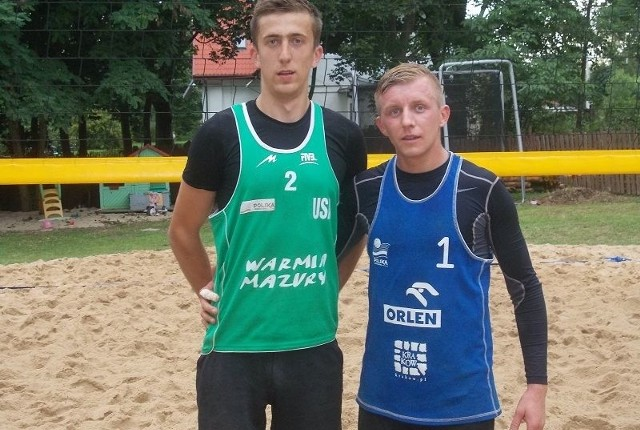 Zwycięska para zawodów w Baryczy Karol Duda i Arkadiusz Kuleta.