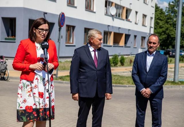 Prezydent Tadeusz Truskolaski i Andrzej Ostrowski, szef ZMK, liczą, że inwestycję przy Bema uda się zakończyć w 2023 roku
