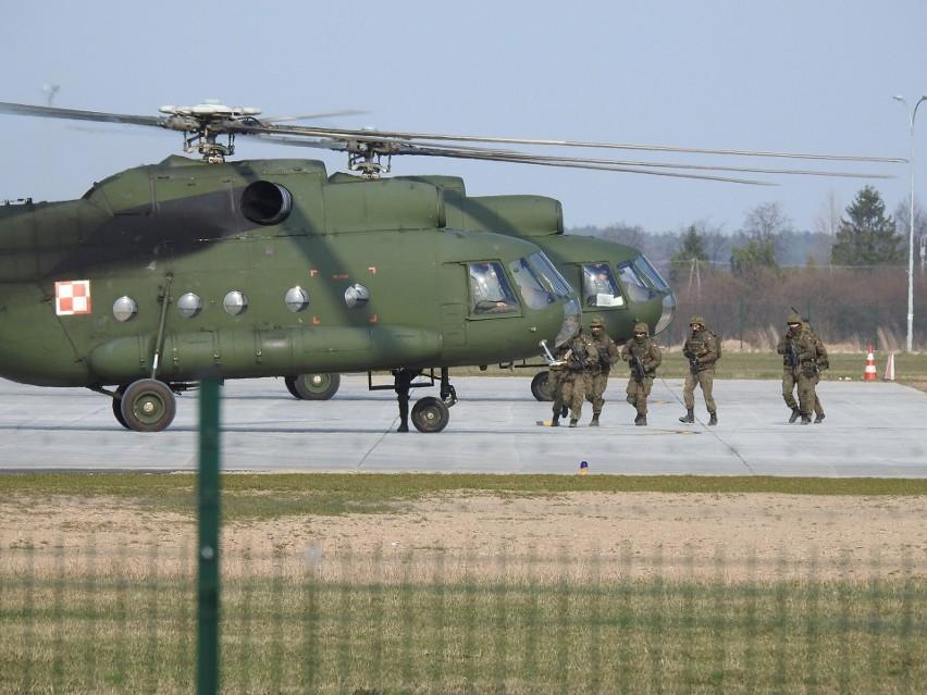 Żołnierze 1 Podlaskiej Brygady Obrony Terytorialnej...