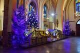 Choinki i szopki bożonarodzeniowe w stargardzkich kościołach. ZDJĘCIA