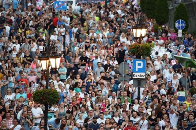 Dni Bielska-Białej 2019 zgromadziły na placu Ratuszowym tłumy widzów - na scenie wystąpił Shaggy