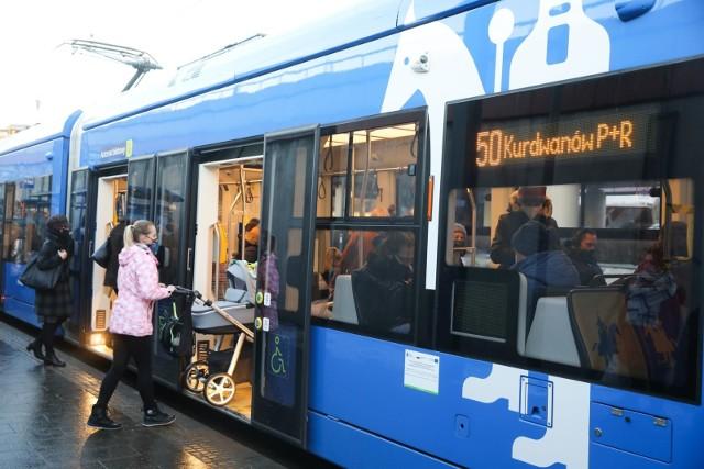 Krakowskie tramwaje od 1 lutego będą kursować częściej