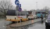 Autobus z Białegostoku do Tykocina nie dojechał. Droga była tak śliska, że autobus stanął