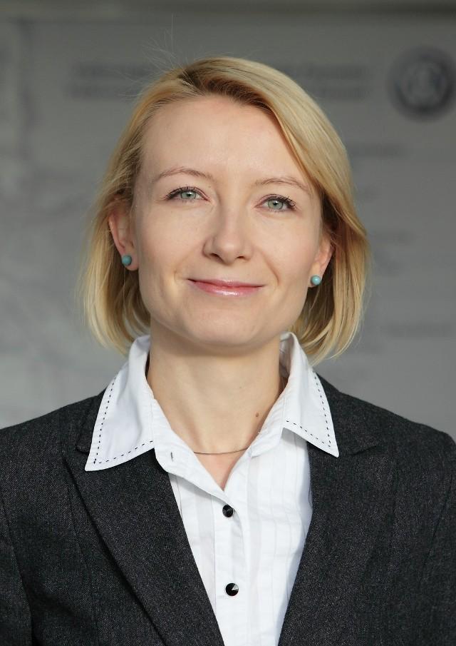 Monika Hajbowicz zaraża trzecioklasistów nie tylko sportową pasją, ale również swoim uśmiechem i życiowym optymizmem
