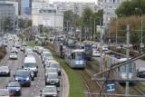 Paraliż komunikacji miejskiej na Legnickiej. Tramwaj blokował torowisko