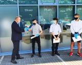 Nowy kierunek - przyszły zawód. Pierwsze naukowe stypendia firmy KAN dla najlepszych uczniów (zdjęcia)
