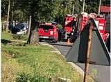 Tragedia pod Namysłowem. Nie żyje 39-letni motocyklista. To policjant, który jechał na służbę