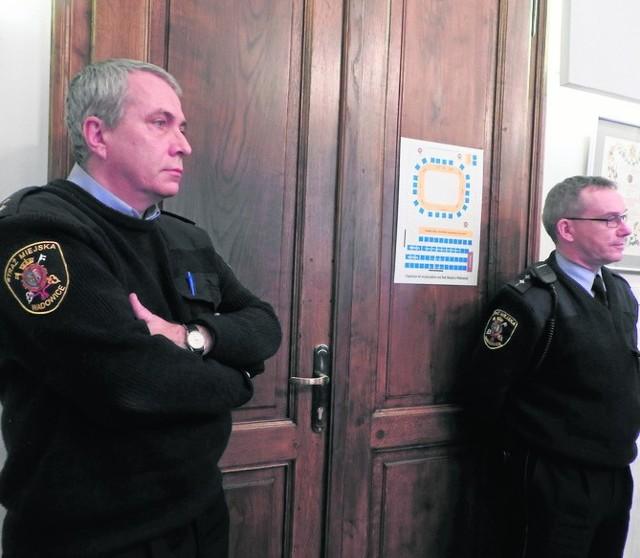 W wadowickiej Straży Miejskiej panuje ostatnio duża rotacja. Do jej zadań należy m.in. pilnowanie porządku na sesji  Rady Miejskiej