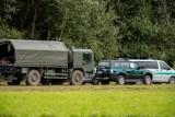 Kolejna duża grupa migrantów na granicy z Białorusią. Straż Graniczna publikuje film