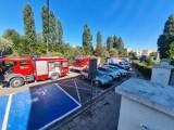 Pożar w szpitalu w Zgierzu. Ewakuowano 20 pacjentów. Zapaliła się serwerownia ZDJĘCIA