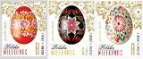 Znaczki pocztowe z pisankami z Lipska promują Podlaskie w całej Polsce. Wydrukowano dziesięć milionów sztuk (zdjęcia)
