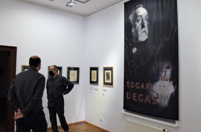 """""""Edgar Degas - impresjonizm szczera prawda"""", to tytuł wystawy, którą oglądać można w Muzeum im. Jana Kasprowicza w Inowrocławiu. Znajdujące się tam prace słynnego francuskiego ekspresjonisty prezentowane są w Polsce po raz pierwszy"""