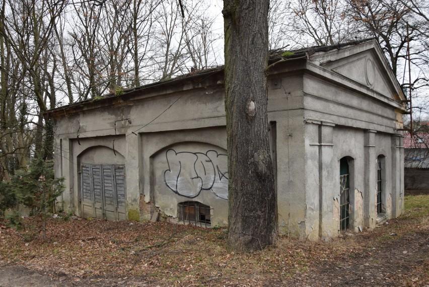 Cmentarz przy ul. Chmielnej w Zielonej Górze. Stan na luty...