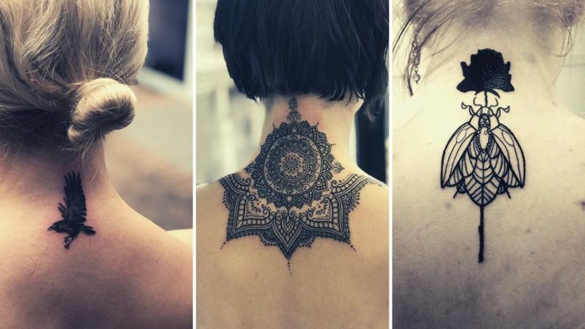 Tatuaż Na Karku 24 Ciekawe Wzory Piękne Czy Wprost