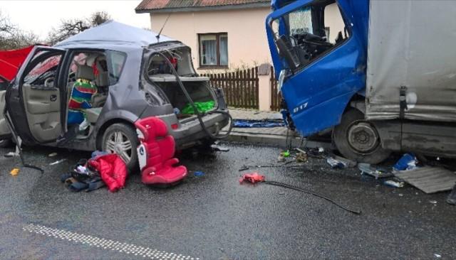 Śmiertelny wypadek w Stanisławowie koło Uniejowa