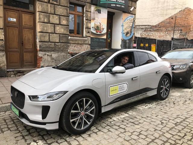 Nasz dziennikarz testował Jaguara I-Pace na krakowskich ulicach