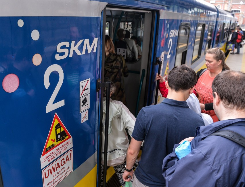 Uwaga pasażerowie SKM - awaria rozjazdu w Wejherowie i utrudnienia w ruchu pociągów