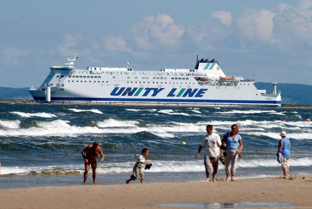 Promy Unity Line goszczą rocznie około 250 tys. pasażerów i ponad 180 tys. kierowców ciężarówek.