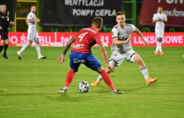 Piątkowski vs. Rosołek w meczu Rakowa z Legią
