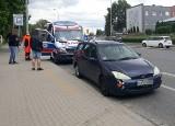 Wypadek trzech samochodów przy estakadzie Gądowianka. Jedna osoba ranna