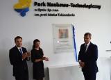 Park Naukowo-Technologiczny w Opolu nosi od dziś imię prof. Marka Tukiendorfa