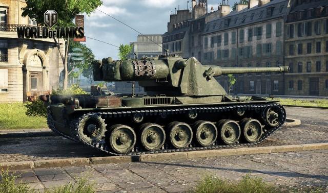 World of TanksCzołg Kranvagn w grze World of Tanks
