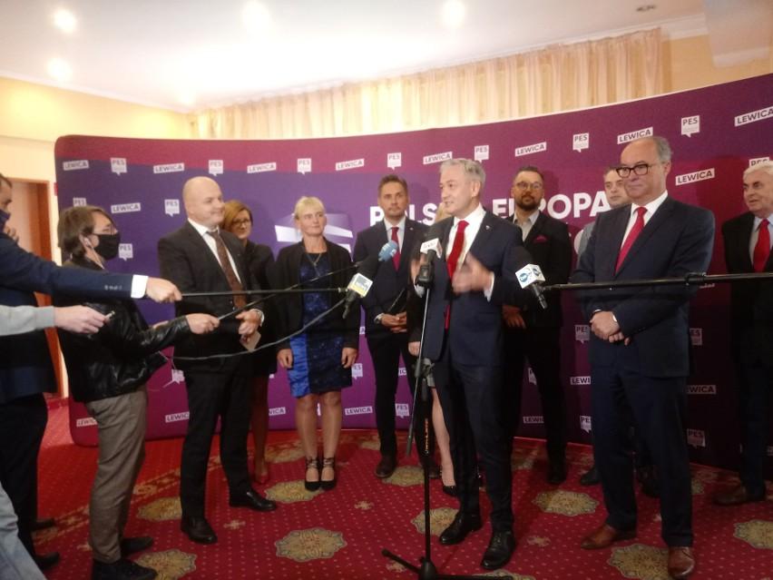 Podlaski kongres programowy Lewicy w Hotelu Gołębiewskim