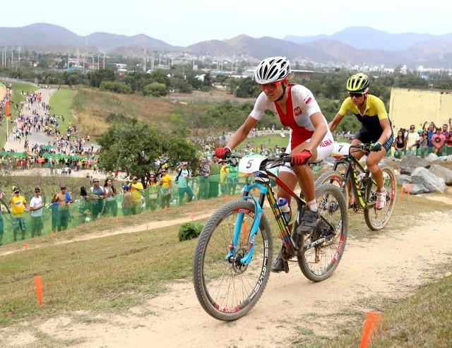 Maja Włoszczowska to dwukrotna wicemistrzyni olimpijska.