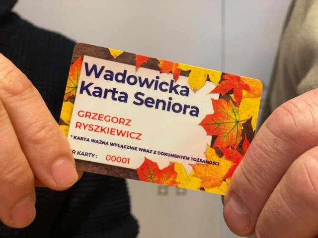 Wadowicka Karta Seniora