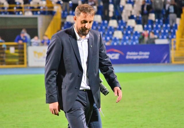 Trener Stali Mielec po meczu w Grudziądzu żałował straconych punktów