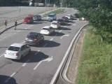 Tatry. Znów korek na drodze do Morskiego Oka. Nie ma już wolnych miejsc parkingowych