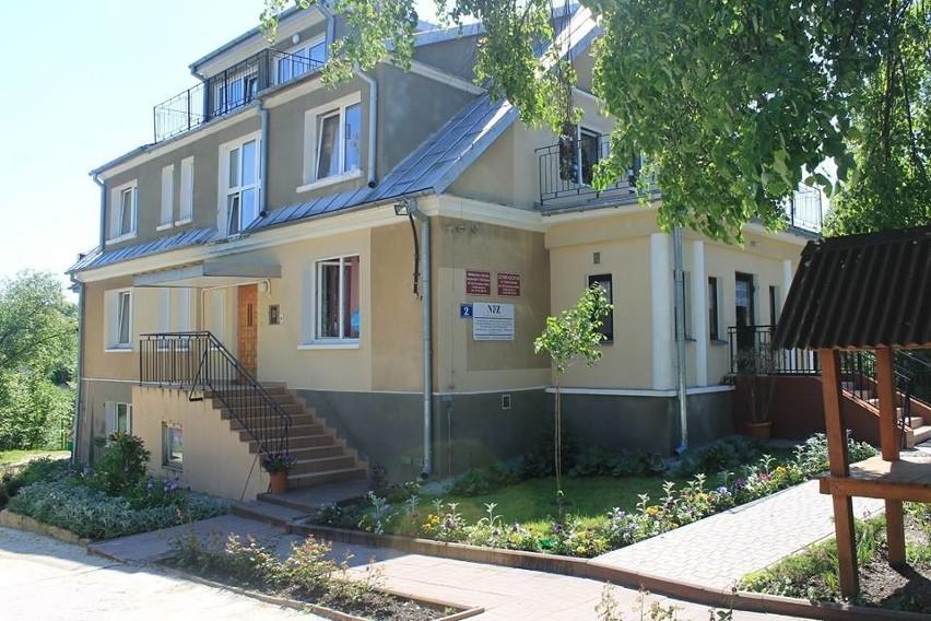 Siedziba ośrodka w Cholewiance koło Kazimierza Dolnego