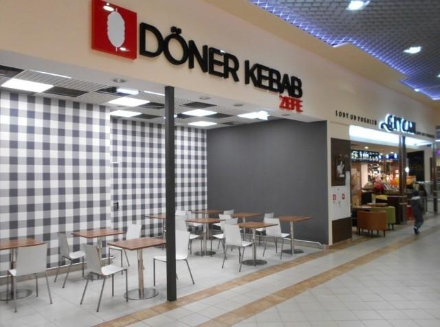 Doner Kebab Zefe w galerii Zielone Wzgórze.