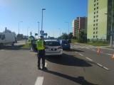 Wypadek na ulicy Grunwaldzkiej w Kielcach i duże utrudnienia. Trzy osoby ranne