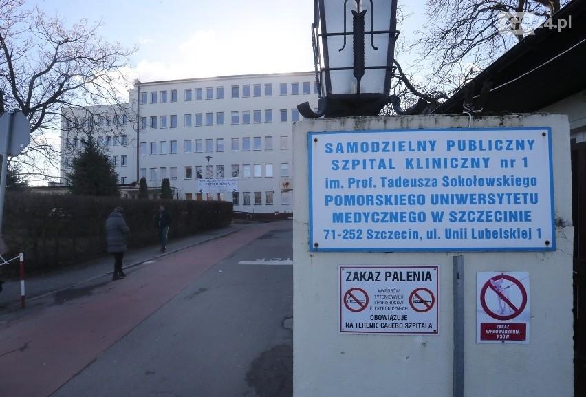Szpital przy Unii Lubelskiej w Szczecinie.