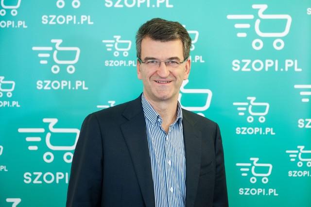 Zbigniew Płuciennik, założyciela i CEO Szopi.pl