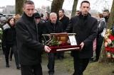 Rodzina i przyjaciela pożegnali Jerzego Rębisza na cmentarzu w Okoninie [zdjęcia]