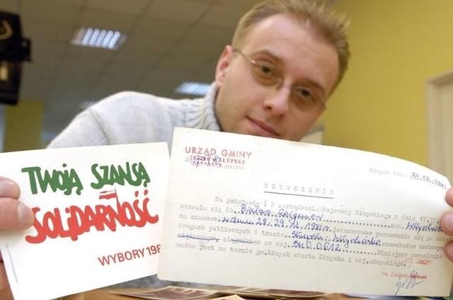 Pamiątki Marcina Białasa trafią na okolicznościową wystawę.
