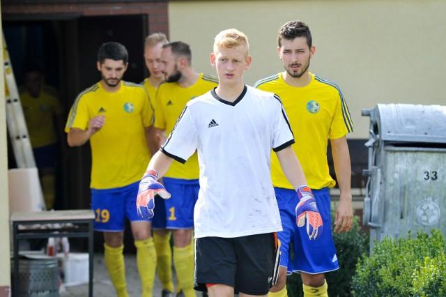 Bramkarz Krzysztof Tront grał ostatnio w Swornicy. Teraz trenuje z SBB Energy Kup.